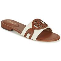 Pantofi Femei Papuci de vară Lauren Ralph Lauren ALEGRA Coniac / Bej
