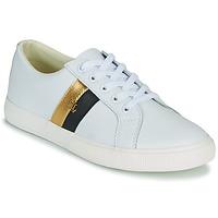 Pantofi Femei Pantofi sport Casual Lauren Ralph Lauren JANSON II Alb / Auriu