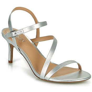 Pantofi Femei Sandale  Lauren Ralph Lauren LANDYN Argintiu