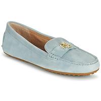 Pantofi Femei Mocasini Lauren Ralph Lauren BARNSBURY FLATS CASUAL Albastru / Albastru-cerului
