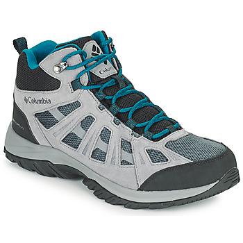 Pantofi Bărbați Drumetie și trekking Columbia REDMOND III MID WATERPROOF Gri