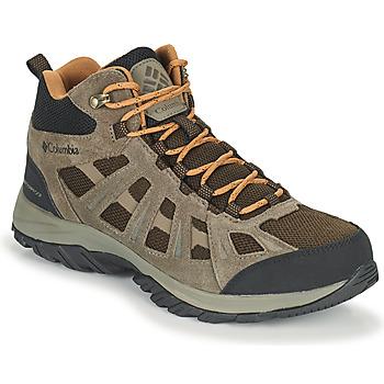 Pantofi Bărbați Drumetie și trekking Columbia REDMOND III MID WATERPROOF Maro