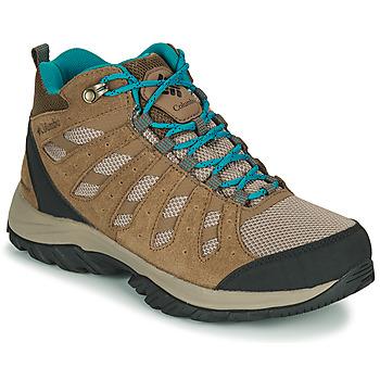 Pantofi Femei Drumetie și trekking Columbia REDMOND III MID WATERPROOF Bej
