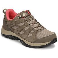 Pantofi Femei Drumetie și trekking Columbia REDMOND III WATERPROOF Maro