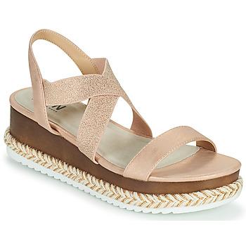 Pantofi Femei Sandale  Elue par nous JELLYA Roz / Argintiu