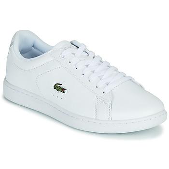 Pantofi Femei Pantofi sport Casual Lacoste CARNABY EVO BL 21 1 SFA Alb