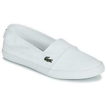 Pantofi Femei Pantofi Slip on Lacoste MARICE BL 2 SPW Alb