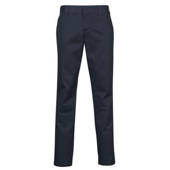 Îmbracaminte Bărbați Pantalon 5 buzunare Dickies SLIM FIT WORK PNT Albastru