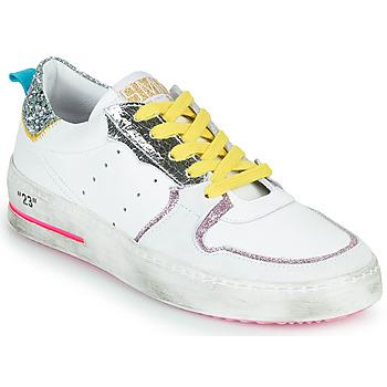 Pantofi Femei Pantofi sport Casual Semerdjian SONA Alb / Argintiu