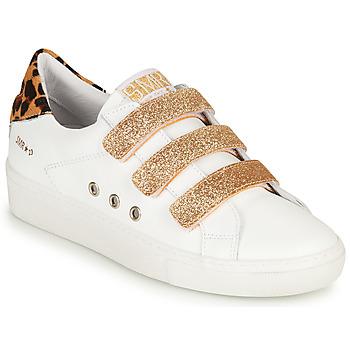 Pantofi Femei Pantofi sport Casual Semerdjian GARBIS Alb / Auriu