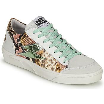 Pantofi Femei Pantofi sport Casual Semerdjian ELISE Alb / Maro