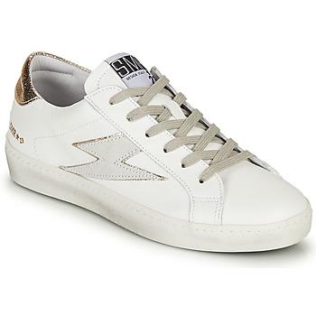 Pantofi Femei Pantofi sport Casual Semerdjian CATRI Alb / Auriu