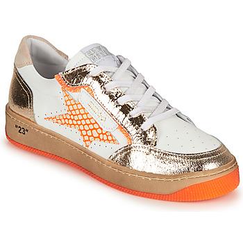 Pantofi Femei Pantofi sport Casual Semerdjian ARTO Alb / Portocaliu