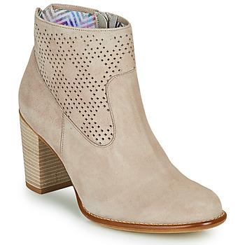Pantofi Femei Botine Dorking ALEXA Bej