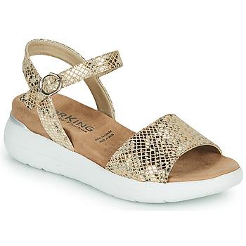 Pantofi Femei Sandale  Dorking ROCK Auriu