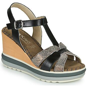 Pantofi Femei Sandale  Dorking TOTEM Negru / Bronz