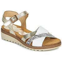 Pantofi Femei Sandale  Dorking ESPE Alb / Argintiu