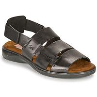 Pantofi Bărbați Sandale  Fluchos 1200-SURF-NEGRO Negru