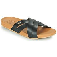 Pantofi Femei Șlapi Reef CUSHION SPRING BLOOM Negru