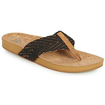 Pantofi Femei  Flip-Flops Reef REEF CUSHION STRAND Negru