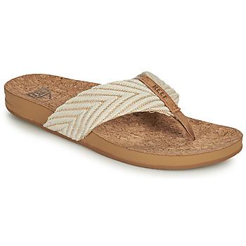 Pantofi Femei  Flip-Flops Reef REEF CUSHION STRAND Alb