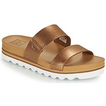Pantofi Femei Șlapi Reef CUSHION VISTA HI Maro