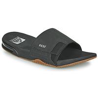 Pantofi Bărbați Șlapi Reef FANNING SLIDE Negru