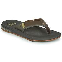 Pantofi Bărbați  Flip-Flops Reef FANNING LOW Maro
