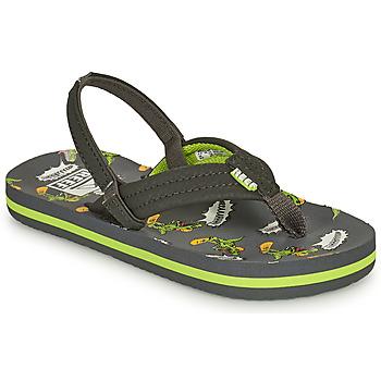 Pantofi Băieți  Flip-Flops Reef LITTLE AHI Gri