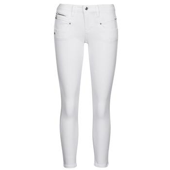 Îmbracaminte Femei Pantalon 5 buzunare Freeman T.Porter ALEXA CROPPED S-SDM Alb