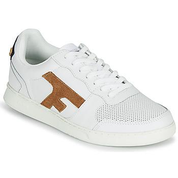 Pantofi Bărbați Pantofi sport Casual Faguo HAZEL LEATHER Alb / Maro