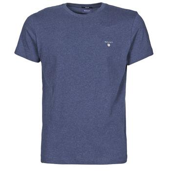 Îmbracaminte Bărbați Tricouri mânecă scurtă Gant THE ORIGINAL T-SHIRT Albastru / Mixed