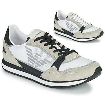 Pantofi Bărbați Pantofi sport Casual Emporio Armani EMPAGNO Alb