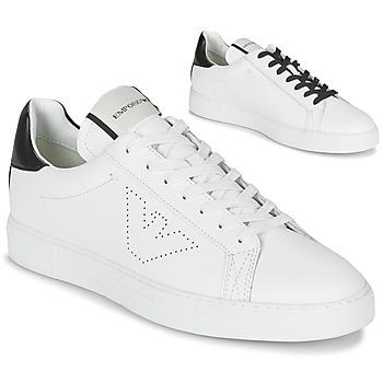 Pantofi Bărbați Pantofi sport Casual Emporio Armani BELGA Alb
