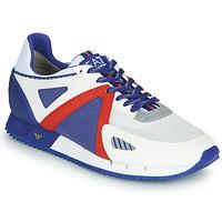 Pantofi Bărbați Pantofi sport Casual Emporio Armani EA7 SAPONI Alb / Albastru / Roșu