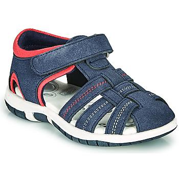 Pantofi Băieți Sandale  Chicco FAUSTO Albastru