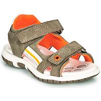 Pantofi Băieți Sandale  Chicco FLAUTO Kaki