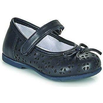 Pantofi Fete Balerin și Balerini cu curea Chicco CARY Albastru