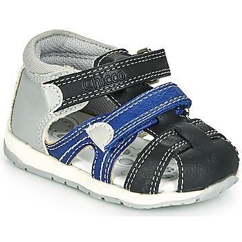 Pantofi Băieți Sandale  Chicco GABRIEL Albastru / Gri