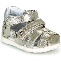 Pantofi Fete Sandale  Chicco GORY Auriu
