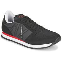 Pantofi Bărbați Pantofi sport Casual Armani Exchange ESPACIA Negru / Roșu