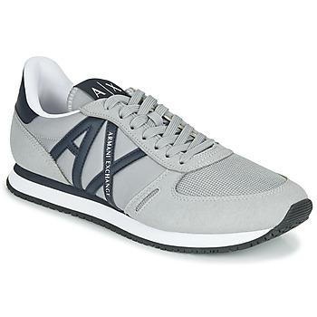 Pantofi Bărbați Pantofi sport Casual Armani Exchange ESPACIA Gri