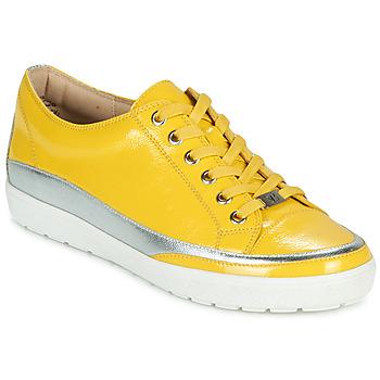 Pantofi Femei Pantofi sport Casual Caprice 23654-613 Galben / Argintiu