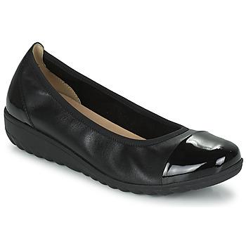 Pantofi Femei Balerin și Balerini cu curea Caprice 22103-026 Negru