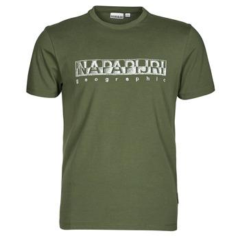 Îmbracaminte Bărbați Tricouri mânecă scurtă Napapijri SALLAR SS Verde