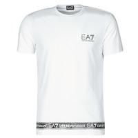 Îmbracaminte Bărbați Tricouri mânecă scurtă Emporio Armani EA7 3KPT05-PJ03Z-1100 Alb