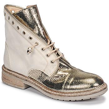 Pantofi Femei Ghete Fru.it 6846-480-PLATINO Auriu