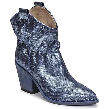 Pantofi Femei Botine Fru.it 6901-376-BLUE Albastru