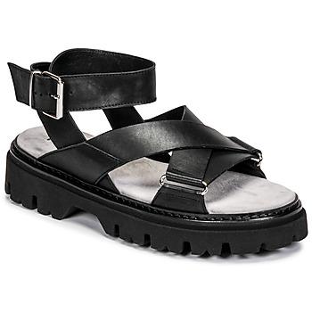 Pantofi Femei Sandale  Fru.it 6757-100-NERO Negru