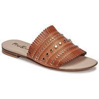 Pantofi Femei Papuci de vară Fru.it 6765-100-CUOIO Maro